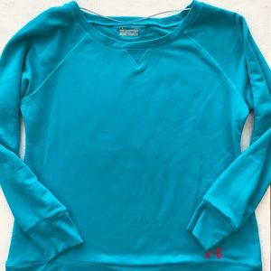 UNDERARMOUR all weather Large popover sweatshirt